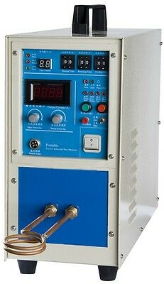 New! 25KW High frequency induction melting furnace