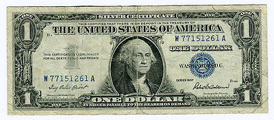 Usa 1 Dollar 1957 Silver Certificate, - 77151261
