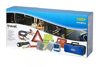 RING AUTOMATIVE 9 PIECE EMERGENCY BREAKDOWN KIT, With Bag (NEW)