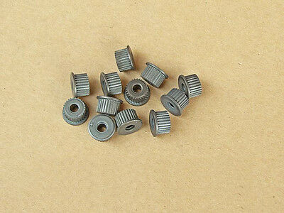 10pcs NEW Hot Gear Bore 3.1 MM Be tight with 555 motor Alloy Micro Pulley DIY