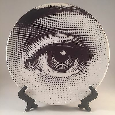 """Reproduction Lina Cavalieri Fornasetti Style 8"""" Plate Tableware Wall Hanging"""