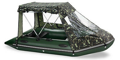 Brand NEW Inflatable Dinghy Boat BARK BT-290S WITH TENT AND TRANSOM WHEELS