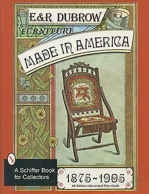 American Furniture (1875-1905) - Types Dates Makers / Book + Values