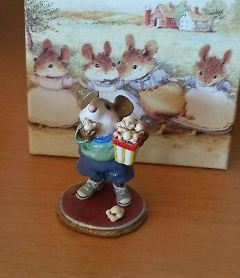 "Wee Forest Folk M-288 ""Mousie's Matinee"" Blue Shorts Mint"