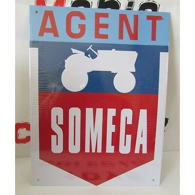 plaque publicitaire automobile - agent someca