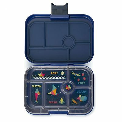 Brotdose Lunchbox Bento Box Yumbox Kinder Santa Fe Blue mit 6 Fächer
