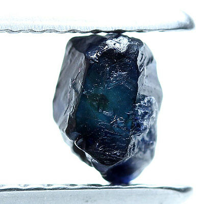 0.77 ct. Blue Ceylon sapphire  Rough Natural Unheated Gemstone Free Shipping!