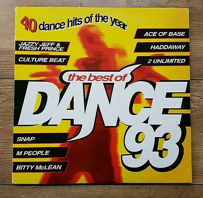 Best of Dance 93 Vinyl Record RARE. Prodigy Robin S M People