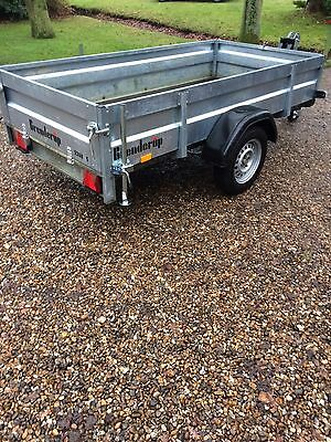 brenderup Braked  Trailer With Winch 8.5x4.2