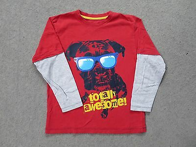 boys long sleeved t-shirt age 8