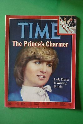 TIME magazine APRIL 20 1981 LADY DIANA D'INGHILTERRA IS WOWING BRITAIN