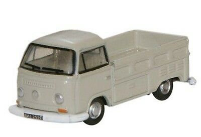 VW T2 Pickup truck British N gauge Oxford Die-cast NVW002 Volkswagen Gray