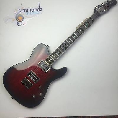 Fender Special Edition Custom Telecaster FMT HH, Black Cherry Burst