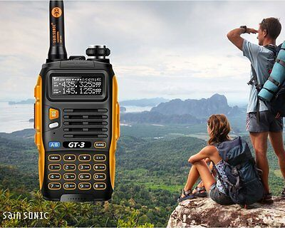 Baofeng BF GT Mark II Transceiver Walkie-Talkie, Dual-Band, DTMF, RX,CTCSS/DC...