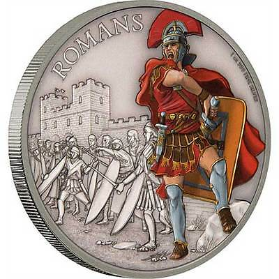 2017 Warriors of History – Romans 1oz Silver Coin