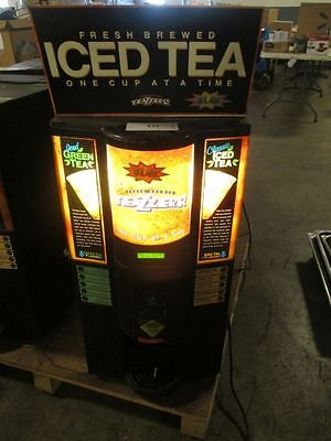 TEAZZERS T-100 Fresh Brewed Ice Tea Maker dispenser commercial machine