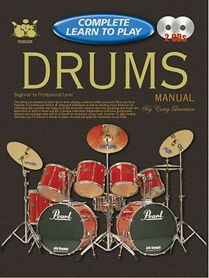Progressive Complete Learn To Play Drums Manual. Sheet Music, CD