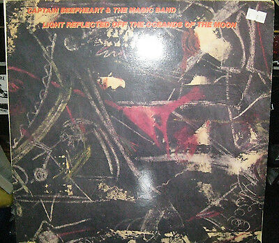 "Captain Beefheart And The Magic Band Light Reflected Off The  12"" Vinyl Lp Album"
