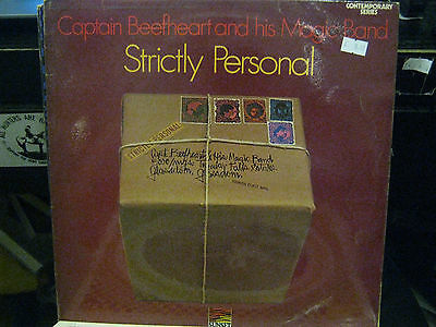 "Captain Beefheart And The Magic Band Strictly Personal 12"" Vinyl Lp Album /"