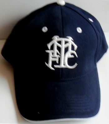 Tottenham Hotspur Baseball Cap With Thfc Logo Embroidered