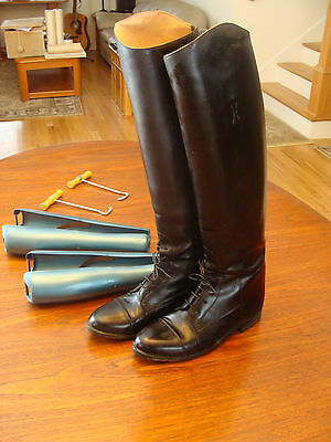 Custom Effingham Riding Boots Made in the USA - Size 10 Men or 12 Ladies