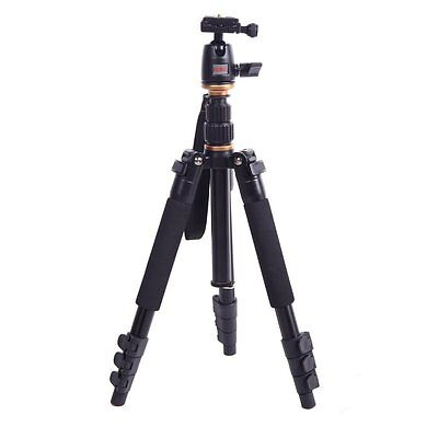 Beike BK-555 Aluminium Alloy Folded Tripod for SLR Camera Ball Head Portable ED