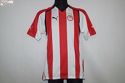Olympiacos 2005 - 2006 Home Puma Football shirt SIZE L