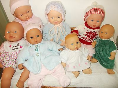 My job lot of preloved baby dolls in excellent condition.