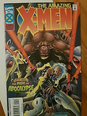 Marvel  The amazing X-Men Mint condition #4 The Age of Apocalypse