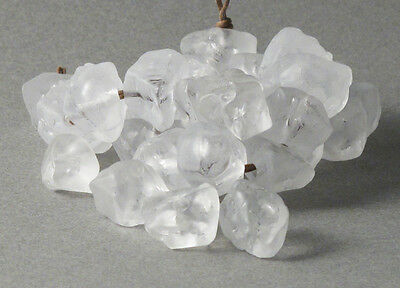 Odds and Ends from the Bead Room / Clear Resin Nugget Beads #2