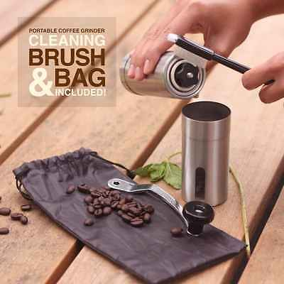 KitchenPRO Manual Hand Coffee Grinder Fine Fresh Coffee Flavor Home Camping Gift