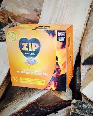 192 Zip Energy Wrapped Firelighters No mess, no smell, just light the wrapper
