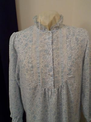 Vintage 1980s nightdress - full length - St. Michael label for M&S