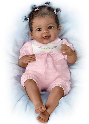 Ashton Drake - TAYLOR (GENTLE TOUCHES) baby doll by Linda Murray