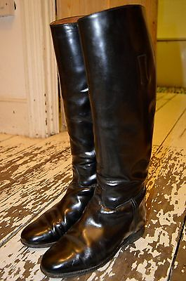 Regent Riding Boots Cotswold All Leather Made England Goodyear UK 5 Equestrian