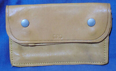 Vintage GPO General Post Office Leather Wallet Purse