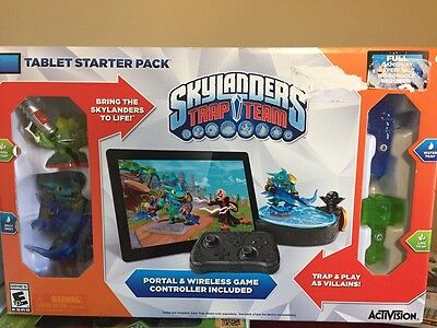 NEW Skylanders Trap Team Tablet Starter Pack Set iPad Android Kindle Mobile
