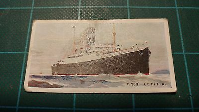 Vintage Cigarette Cards – Imperial Tobacco - Merchant Ships Of The World #4