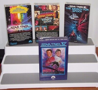 Lot of 8 Betamax Science Fiction Sci Fi Movies Star Trek I II III IV Jaws 2 Ghos
