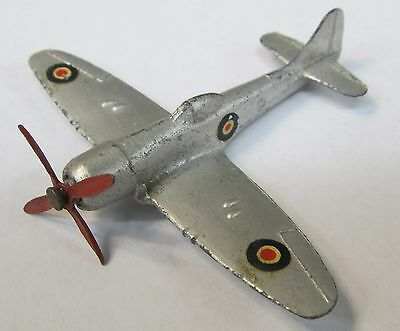 1950's Dinky airplane #70b (730) TEMPEST II diecast