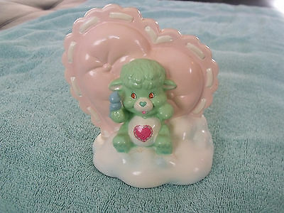 Vintage Care Bears Gentle Heart Lamb Care Bears Cousins Coin Bank
