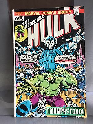 The Incredible HULK #191 1975 VG++