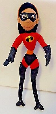 """Disney The Incredibles Violet Daughter Doll Plush Action Figure 14"""" Poseable"""