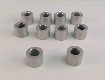 "New Aluminum Spacer Bushing 7//16/"" OD x 1//4/"" ID--Fits M6 or 1//4/"" Bolts"