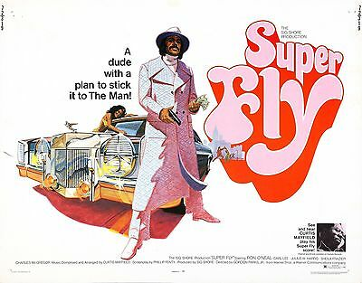 Curtis Mayfield Super Fly art print poster 895mm x 700mm blaxploitation