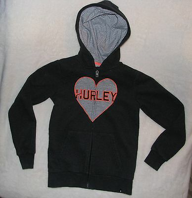 Girls large Hurley Hoodie - Excellent used condition