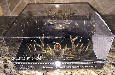 NIB Game Of Thrones House Baratheon Crown Plastic Replica Cosplay Joffrey HBO