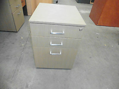 Office 3 X Drawer Mobile Timber Brisbane