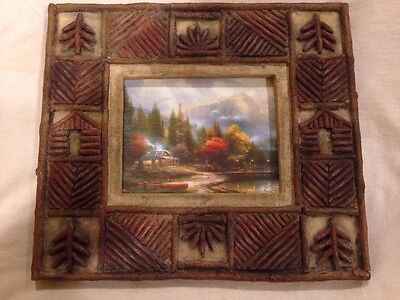 Thomas Kinkade The End Of A Perfect Day Iii Picture Frame Country