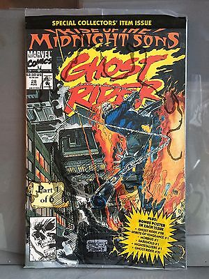 GHOST RIDER #28 Mint Part 1 Of 6 Midnight Sons SEALED